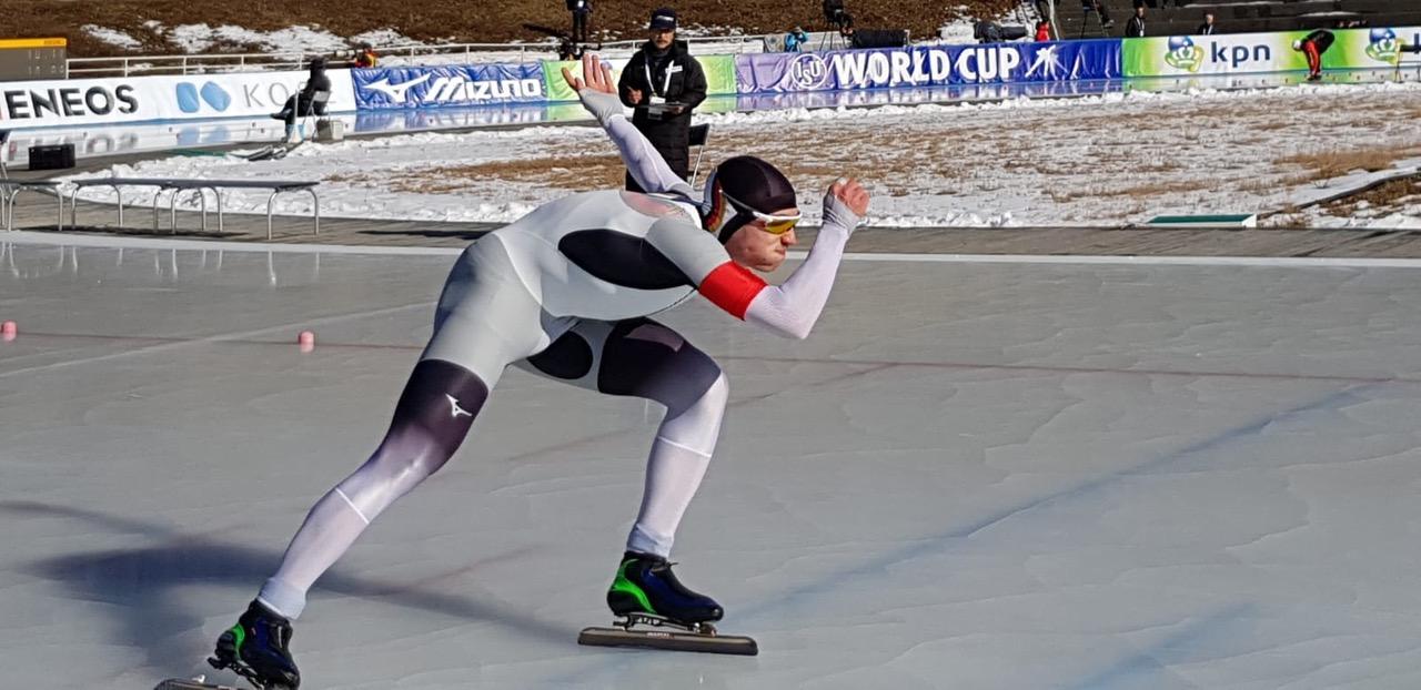 ML-sportmanagement übernimmt Management von Eisschnelllauf Weltcup-Athlet Hendrik Dombek