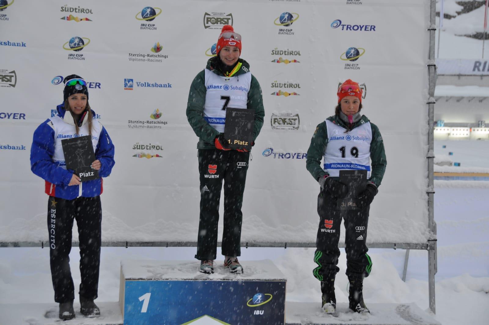 2x Podium für Jule beim Alpencup in Ridnaun