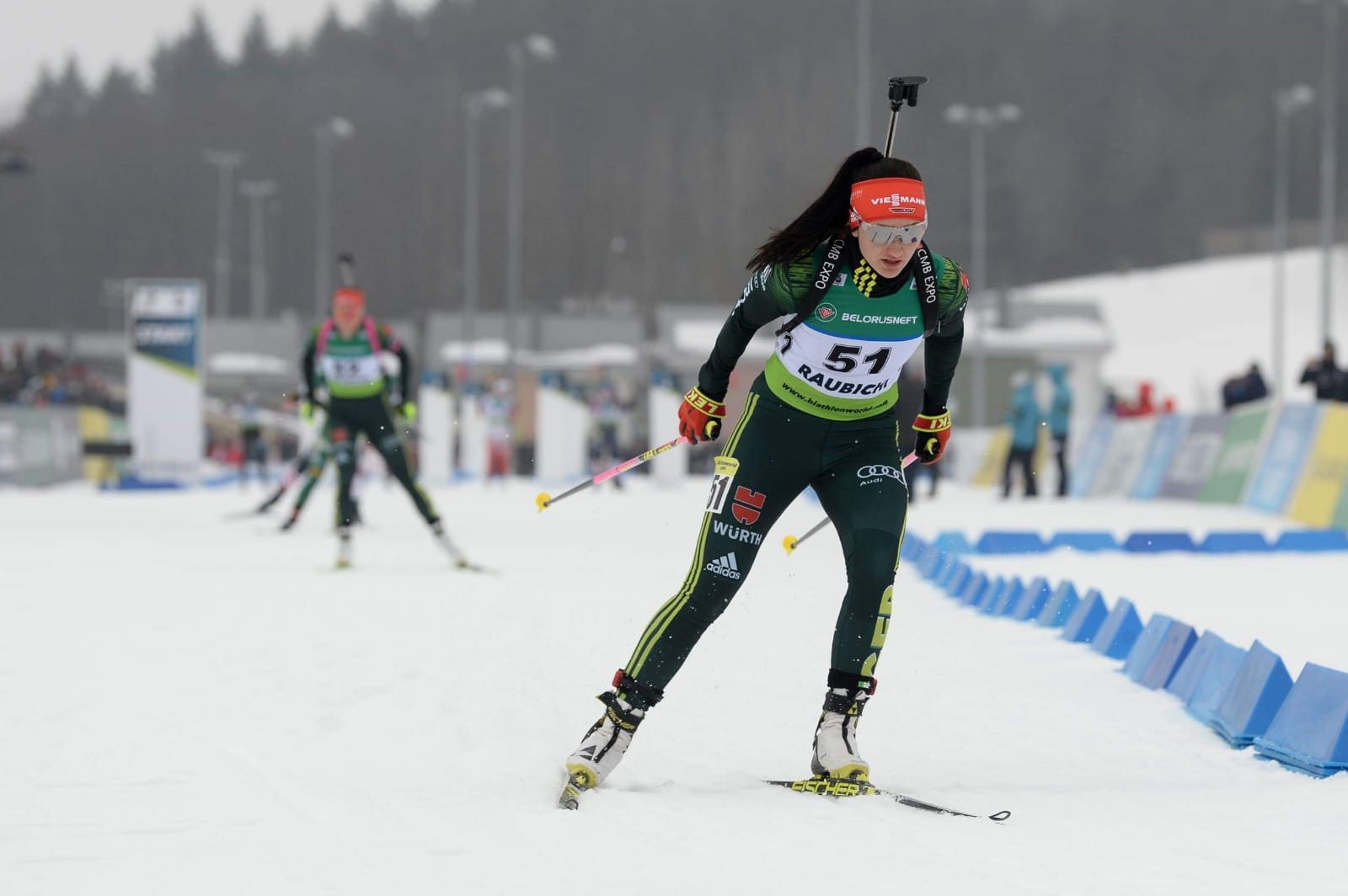 Biathlon EM – Juliane Frühwirt sammelt erste Erfahrungen bei den Damen