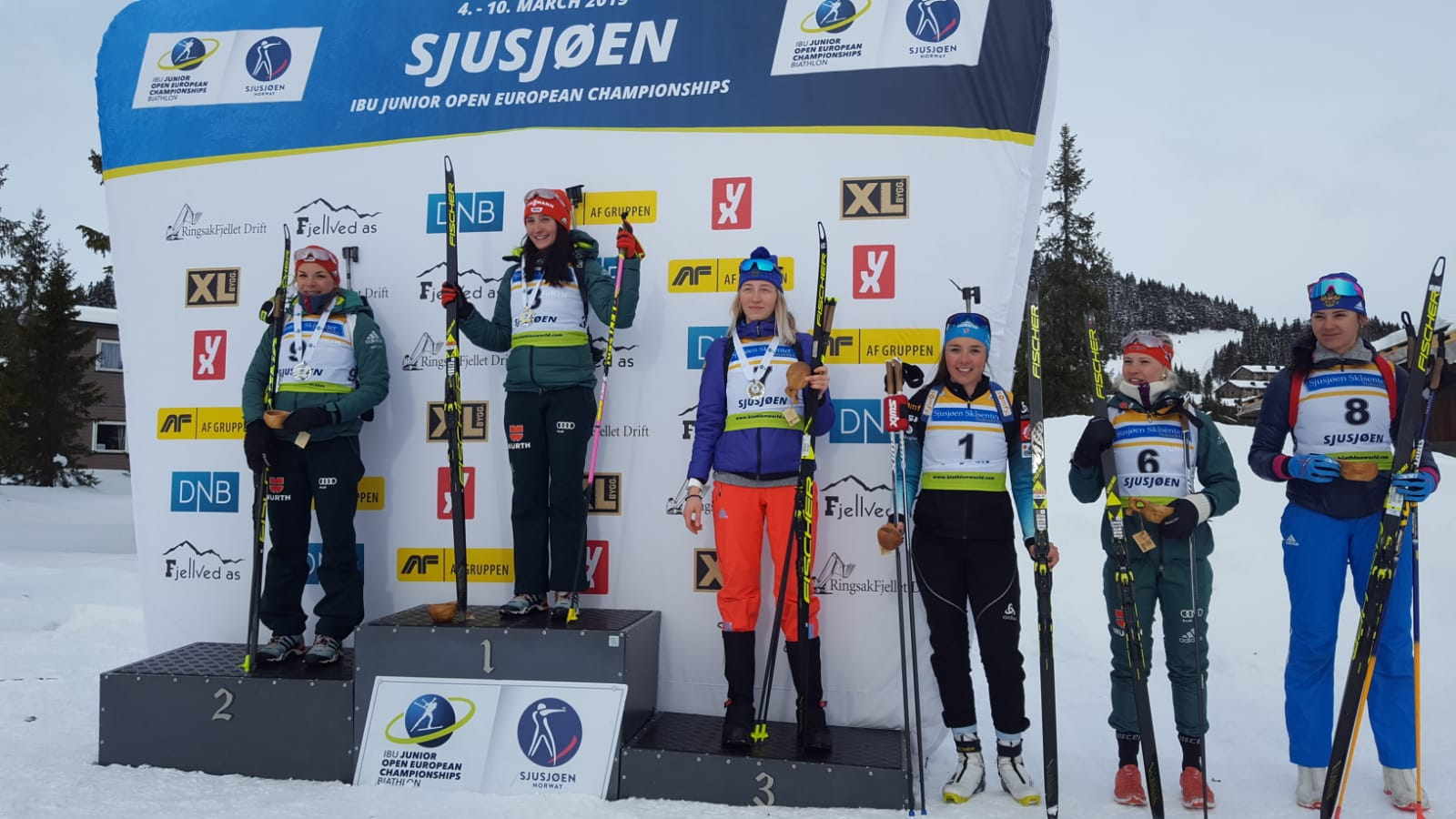 Medaillenreiche Europameisterschaft in Sjusjoen