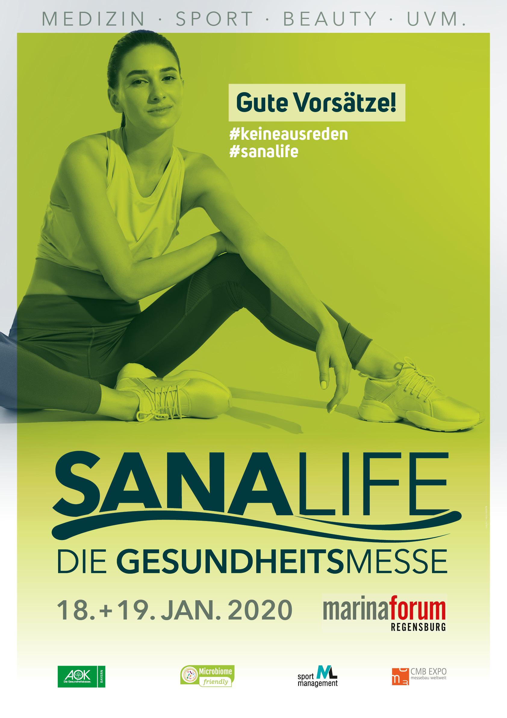 ML-sportmanagement unterstützt Regensburger Gesundheitsmesse SANALIFE 2020